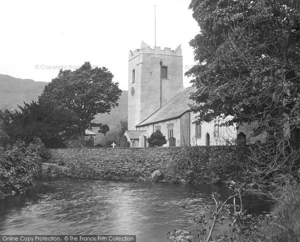 Photo of Grasmere, St Oswald's Church 1912