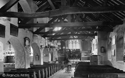 Grasmere, St Oswald's Church, The Interior 1912