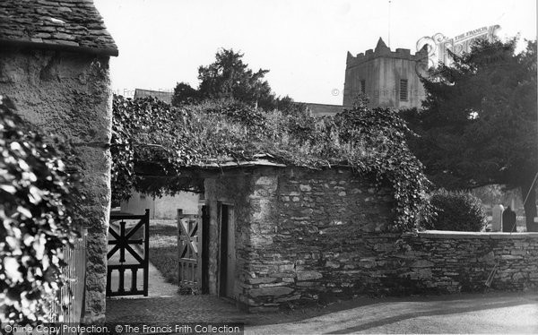 Photo of Grasmere, The Church And  Lychgate 1926
