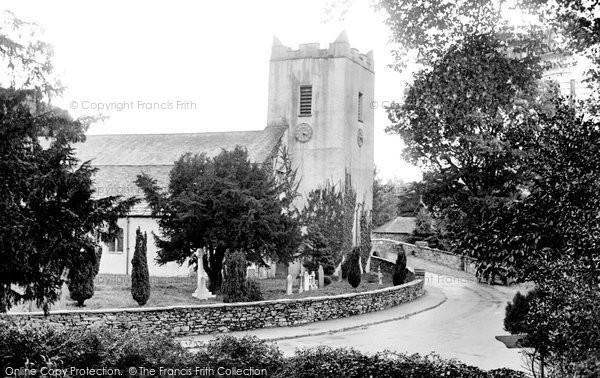 Photo of Grasmere, The Church Of St Oswald 1926
