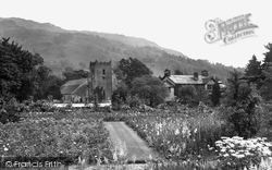 Grasmere, The Church Of St Oswald And The Rectory 1929