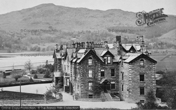 Photo of Grasmere, The Hotel c.1872