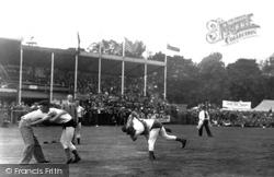 Grasmere, The Sports, Cumberland & Westmorland Style Wrestling c.1940