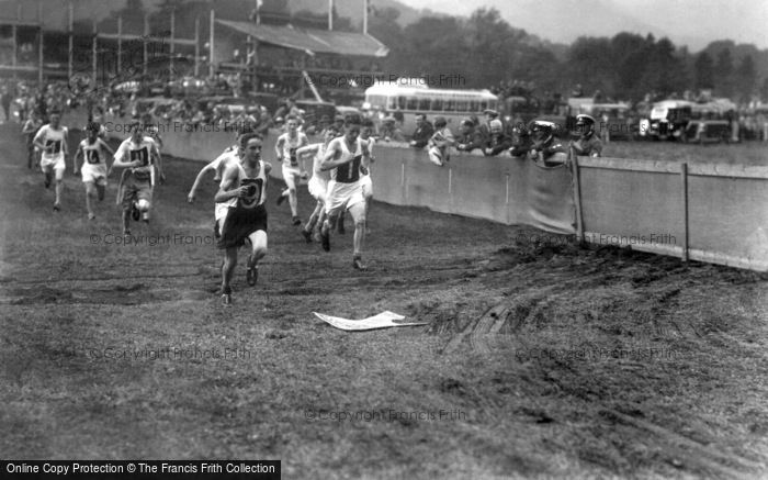Grasmere, The Sports, Junior Running Race c.1940