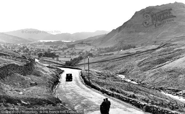 Photo of Grasmere, Vale And Dunmail Raise 1926