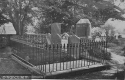Grasmere, Wordsworth's Tomb c.1872
