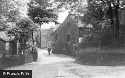 Clough Lane c.1955, Grasscroft