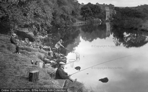 Grassington, Fishing 1926
