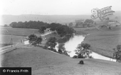 Grassington, General View Of The Dale c.1950