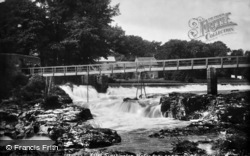 Grassington, Linton Falls 1900