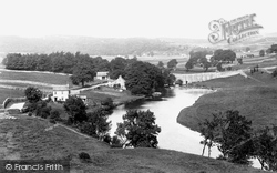 Grassington, River Wharfe And Bridge 1900