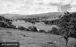 Surprise View From Long Ashes, Netherside c.1950, Grassington