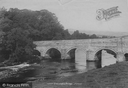 Grassington, The Bridge 1900