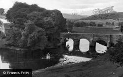 Grassington, The Bridge 1926