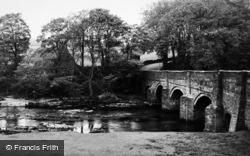 Grassington, The Bridge c.1950