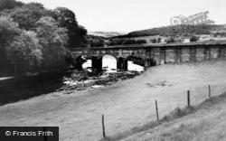 Grassington, The Bridge c.1960