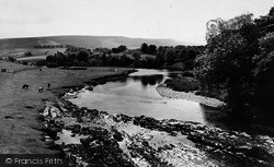 Grassington, The River c.1960
