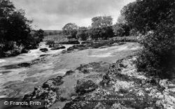 The River Wharfe c.1950, Grassington
