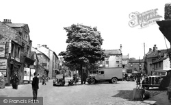 Grassington, The Square 1940