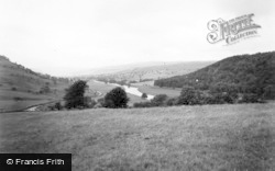 Grassington, The Surprise View, Netherside c.1955