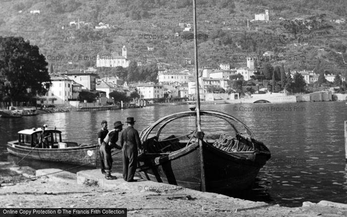 Photo of Gravedona, Batell c.1938