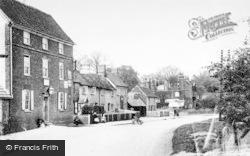 The High Street c.1900, Graveley
