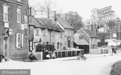 Graveley, The Wagon And Horses c.1900