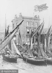 Bawley Bay And The Waterside Mission c.1870, Gravesend