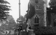 Gravesend, Boys By Milton Church 1902