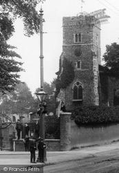 Boys By Milton Church 1902, Gravesend