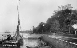 Gravesend, Clifton Marine Parade c.1898