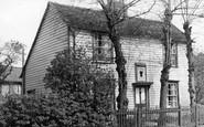 Gravesend, Dickens's Honeymoon Cottage, Chalk c.1935