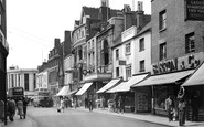 Gravesend, King Street c.1955
