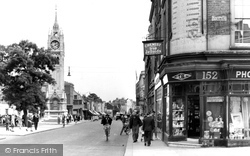 Gravesend, Milton Road 1949