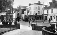 Gravesend, Milton Road And King Street c.1965
