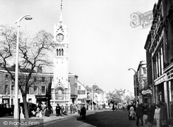 Gravesend, Milton Road c.1955