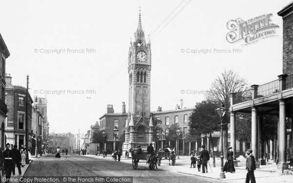 Photo of Gravesend, the Clock Tower 1902, ref. 49026