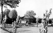 Gravesend, The Fort Gardens, Bandstand c.1955