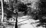 Gravesend, The Fort Gardens c.1955