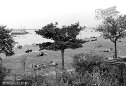 The Promenade From The Recreation Ground c.1955, Gravesend