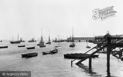 Gravesend, The River Thames c.1898