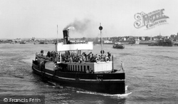 The River Thames, The Ferry c.1955, Gravesend