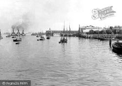Gravesend, The Royal Terrace Pier c.1950