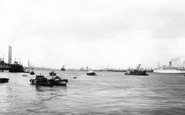 Gravesend, the Thames from Pilot Station c1965