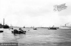 Gravesend, The Thames From Pilot Station c.1965