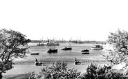 Gravesend, The Thames From The Fort Gardens c.1955