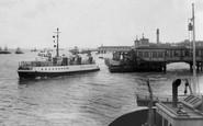 Gravesend, The Tilbury Ferry c.1961