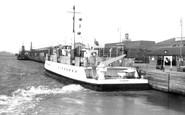 Gravesend, Tilbury Ferry c.1961