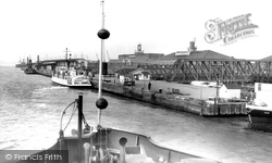 Gravesend, Tilbury Landing Stage c.1961