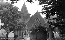 Grays, St Peter And St Paul's Parish Church c.1955